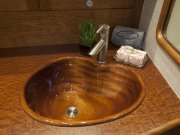 Jarrett Bay 43 HTX - wooden sink
