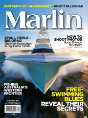 Marlin Magazine's Feb/March Cover