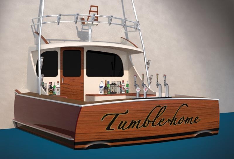 ... unique bar with a tropical or nautical theme – build a Jarrett Bar