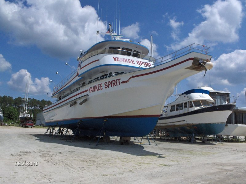Yankee Spirit An 80 Lydia Whale Watching Boat Converted