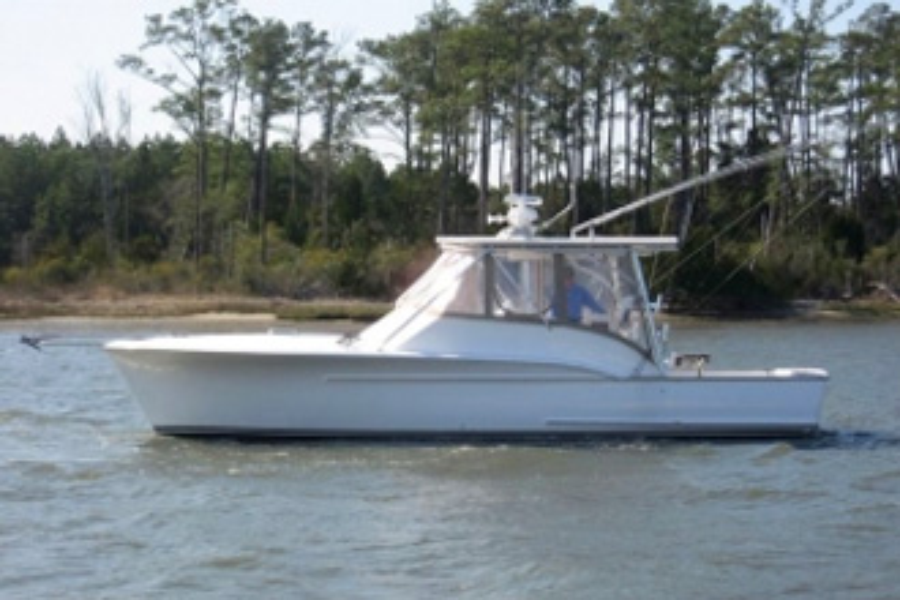 Jarrett Bay hull 17
