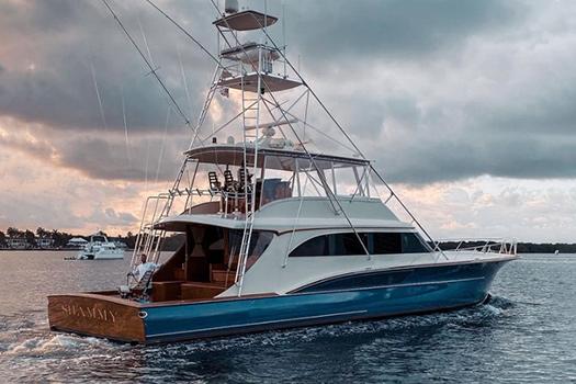 Jarrett Bay hull 38