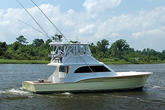 Jarrett Bay hull 42