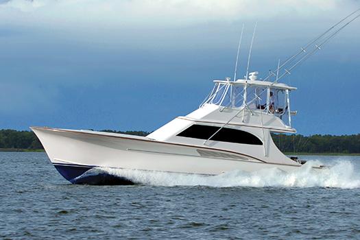 Jarrett Bay hull 49