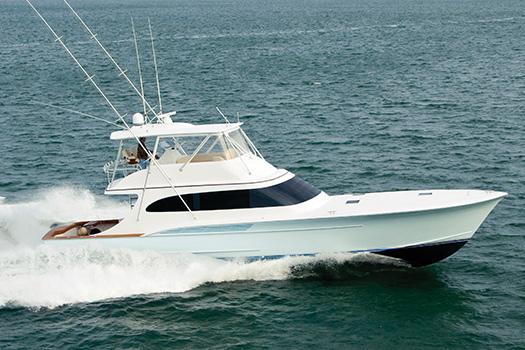 Jarrett Bay hull 55