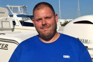 Cory Leary Outboard Service Technician