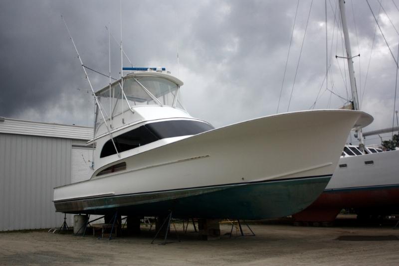 Rebuilding a Classic Jarrett Bay Sportfish Boat