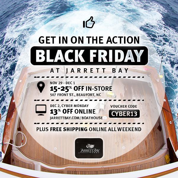 Black Friday at Jarrett Bay Boatworks