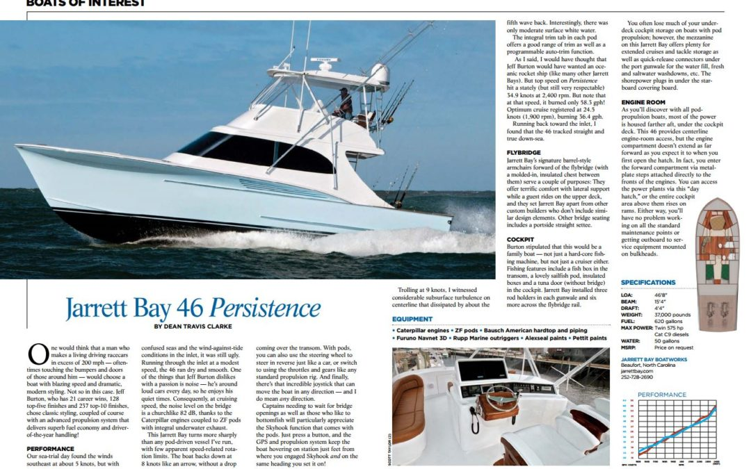Boats of Interest: Jarrett Bay 46