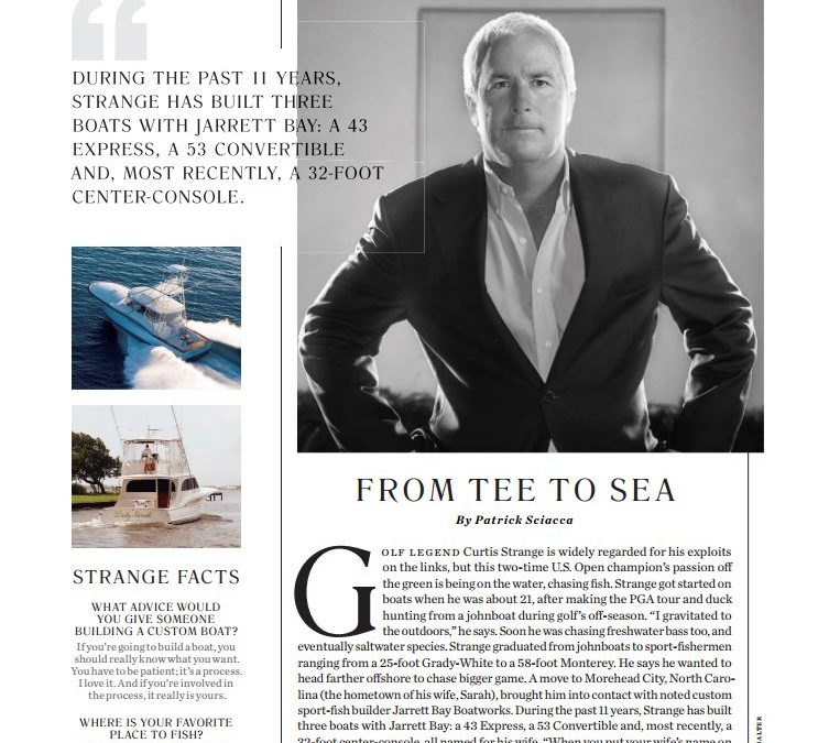From Tee to Sea: Jarrett Bay Owner Curtis Strange