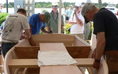 Atlantic Veneer and Jarrett Bay Team Up to Present the Beaufort National Boatbuilding Challenge