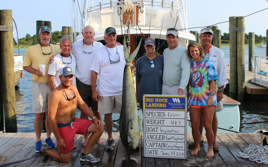 Inspiration Dominates the Dolphin at Big Rock and Keli Wagner Tournaments
