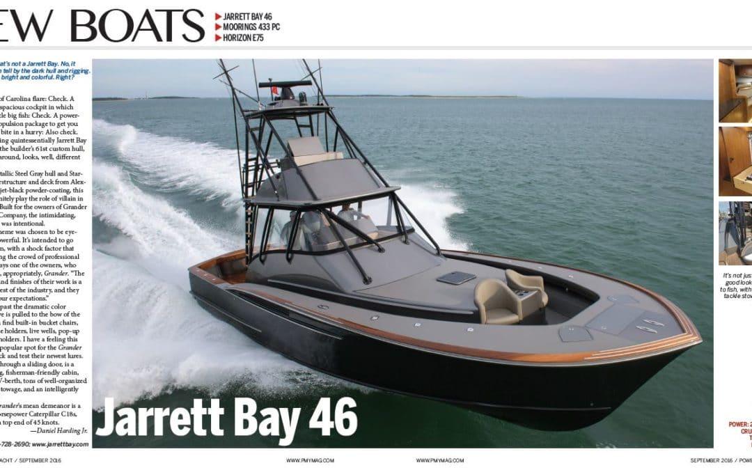 PMY New Boats: Jarrett Bay 46