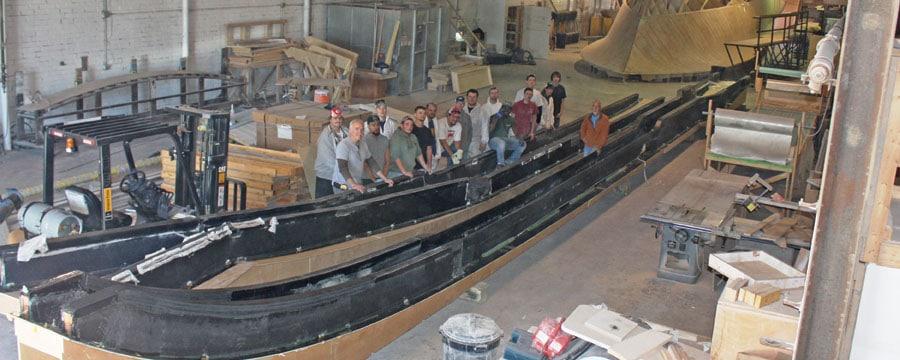 Composite Boat Stringers : Jarrett bay ′ poised to change custom boat building