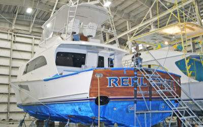 Jarrett Bay Boatworks Earns Refit International Award
