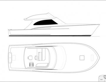 46\' Day Boat Concept