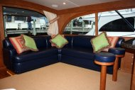 headliner, wall coverings, carpet, and soft goods package i.e.. couch with rod storage, bar stools...