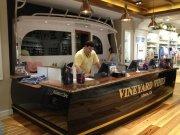 Custom Jarrett Bar cash wrap for Vineyard Vines