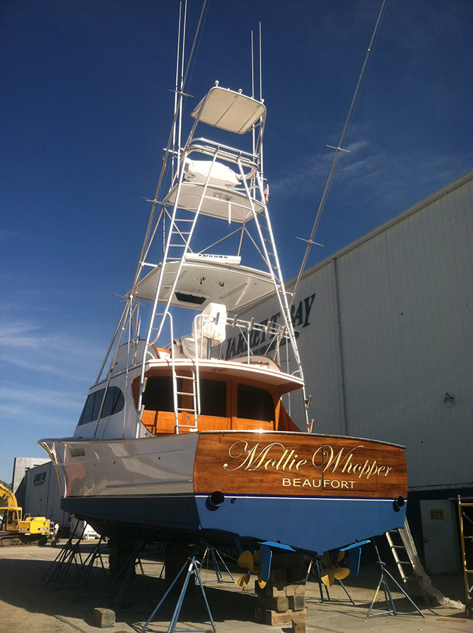 To Care For This Classic Merritt Boat And Become Part Of The Heritage That It Exudes From One Family Custom Sportfishing Builders Another