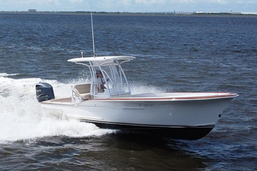 Jarrett Bay hull 10
