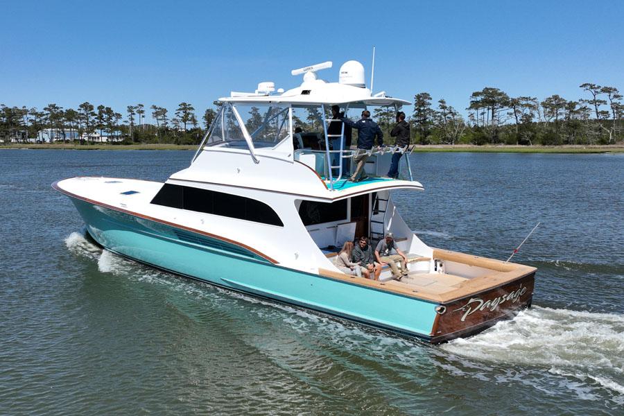 Jarrett Bay hull 287