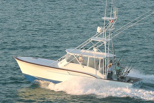 Jarrett Bay hull 44