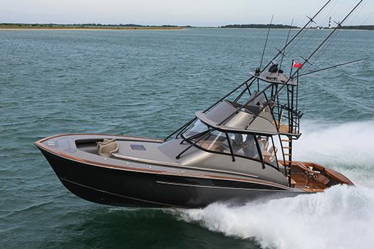 Jarrett Bay hull 61