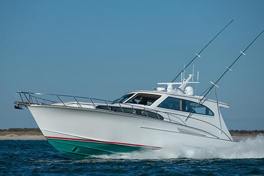 Jarrett Bay hull 63