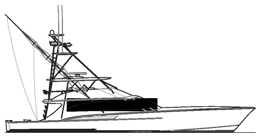 Art Line Yacht Design : Custom sportfish yachts and service from jarrett bay boatworks