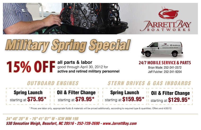 Up to 15% Off on Spring Boat Launch Services