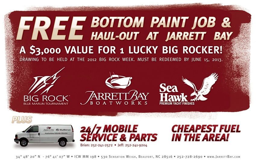 Free Bottom Job for 1 Lucky Big Rock Boat