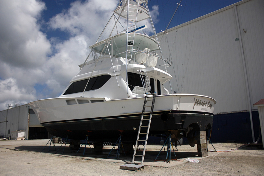 Upgrading the Hatteras 60C, Water's Edge