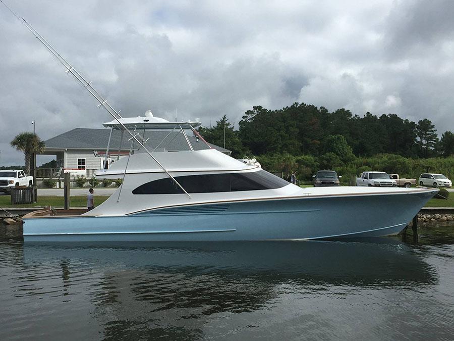 Jarrett Bay at Fort Lauderdale International Boat Show - Jarrett Bay Boatworks