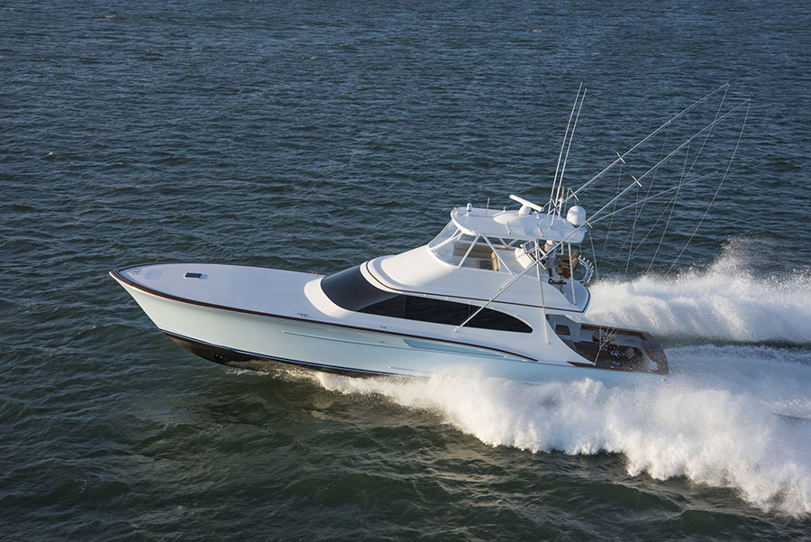 Fourth Custom Jarrett Bay Sportfish Delivered to Family of Anglers