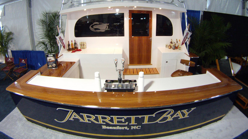 custom boat bar