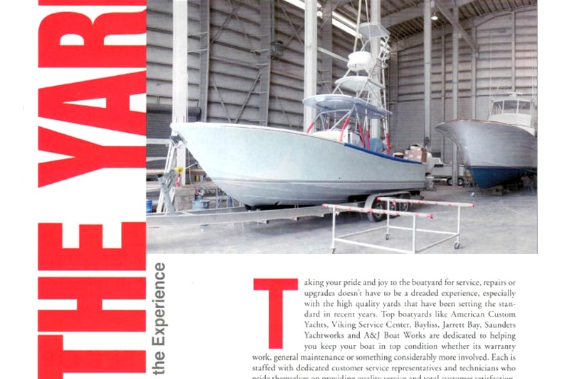 The Keys To Success at Jarrett Bay & Other Top Boatyards
