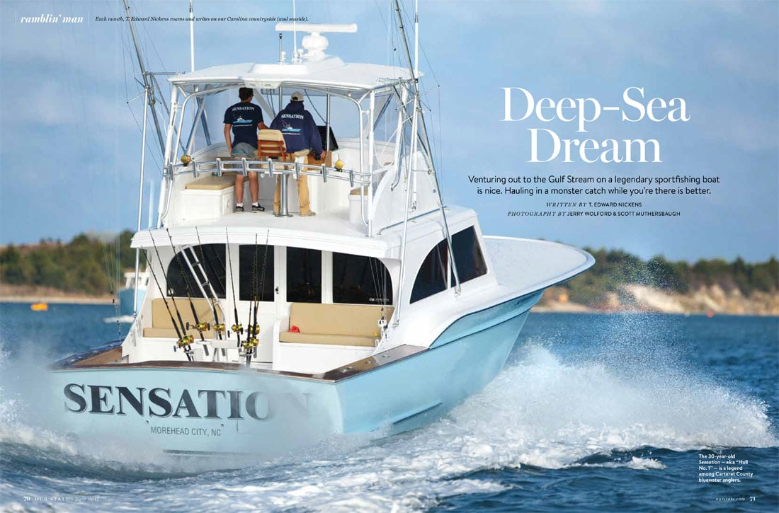 Deep sea dream jarrett bay boatworks for Offshore fishing boat manufacturers
