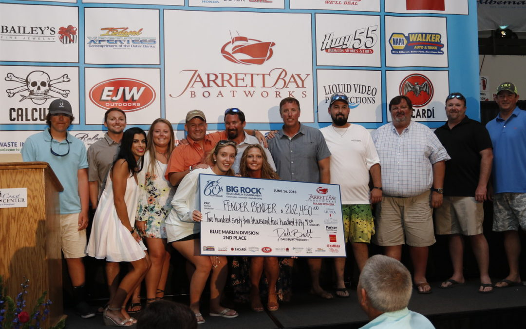 Fender Bender Wins Second at the 60th Annual Big Rock