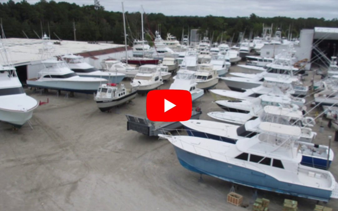 Video: Jarrett Bay Haulouts for Hurricane Matthew (2016)