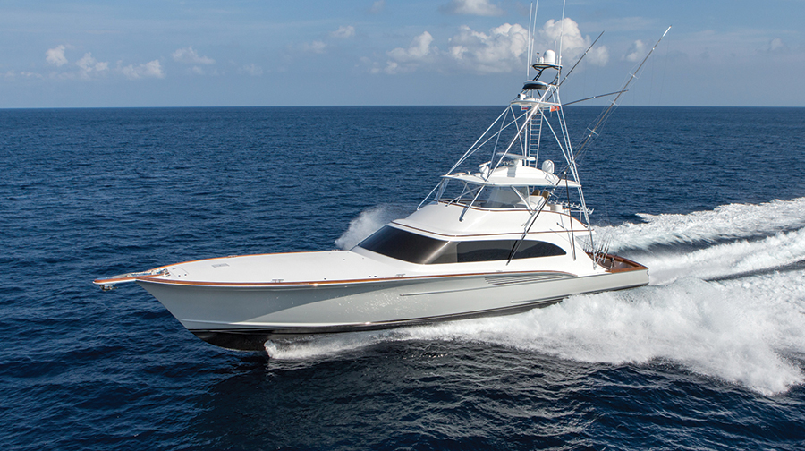 Fueling Development of the Most Advanced Sportfish Ever Built