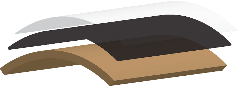 carbon skin mockup