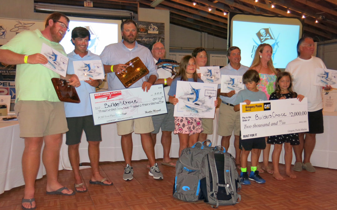 Builder's Choice Wins Pirate's Cove with a Legendary Blue Marlin