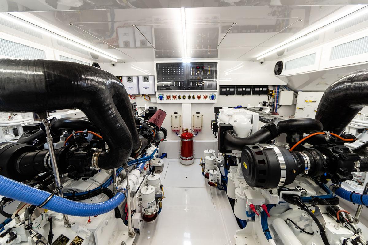 Privateer engine room