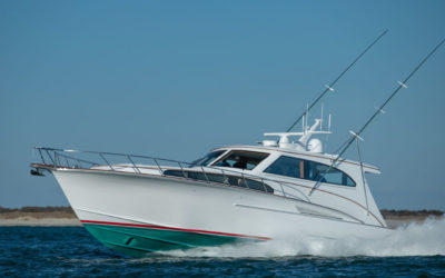 Throwback Design goes High Tech in Jarrett Bay Boatworks' Latest Launch