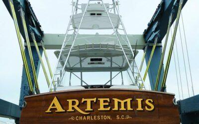 "Resplash: Bringing 50′ Mark Bayne ""Artemis"" Back to Life at Jarrett Bay"