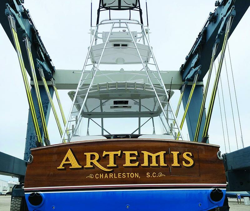 "Resplash: Bringing 50′ Mark Bayne ""Artemis"" Back to Life at Jarrett Bay"