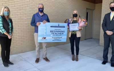 Jarrett Bay Sponsors the Carteret County Public School System Beginning Teacher of the Year Award