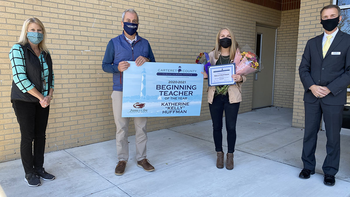 Carteret Schools Beginning Teacher Award-web