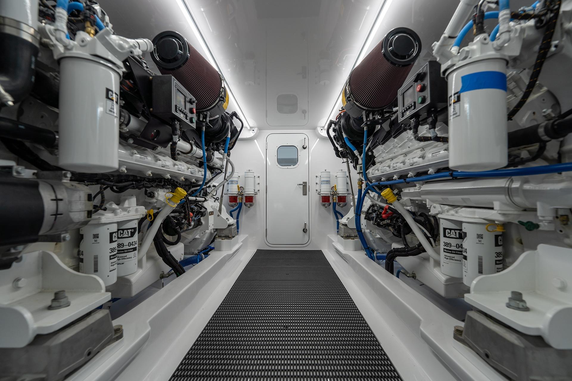 JB 84 Engine Room